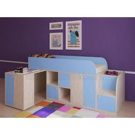 Детская кровать-чердак для детей от 3 лет Астра мини