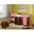 Детская кровать-чердак для детей от 3 лет Астра-5 Дуб Шамони