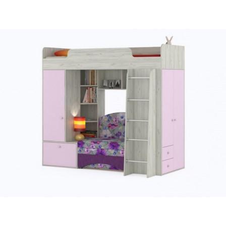 Детская кровать-чердак Тетрис 1366