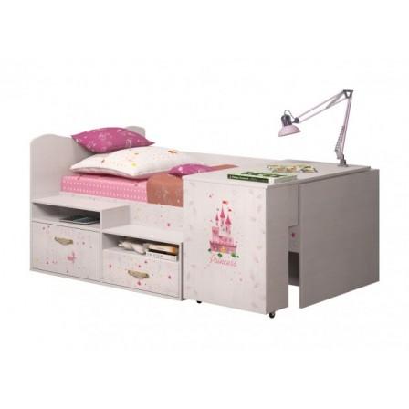 Детская кровать-чердак Принцесса 12