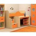 Детская кровать-чердак Vitamin E (80х190)
