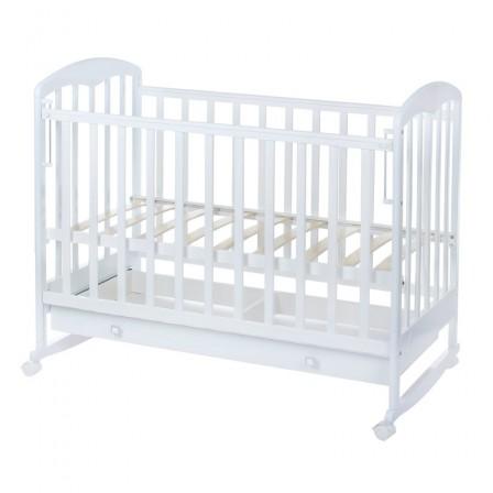 Кроватка для новорожденных Фея 325, белый