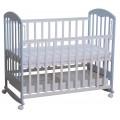 Кроватка для новорожденных Фея 325, белый со вставками