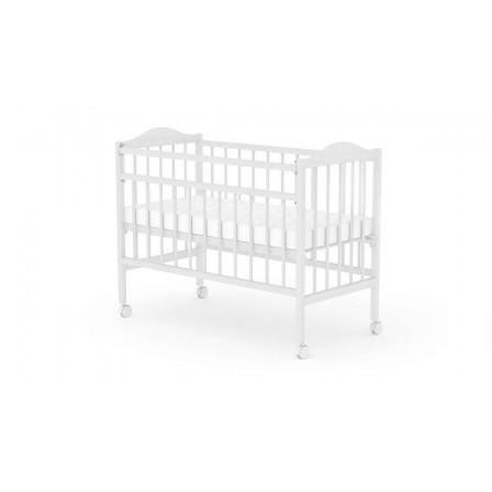 Кроватка для новорожденных Фея 203, белый