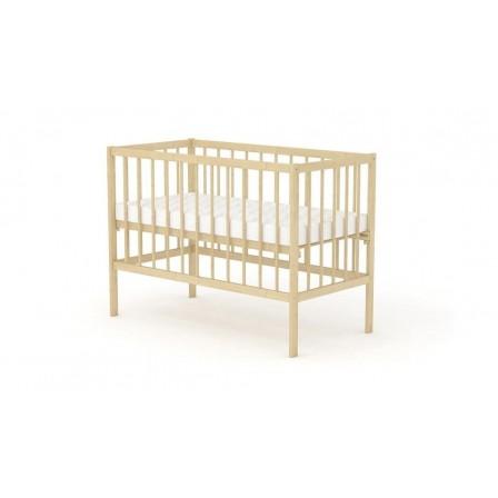 Кроватка для новорожденных Фея 101, орех, натуральный, мед