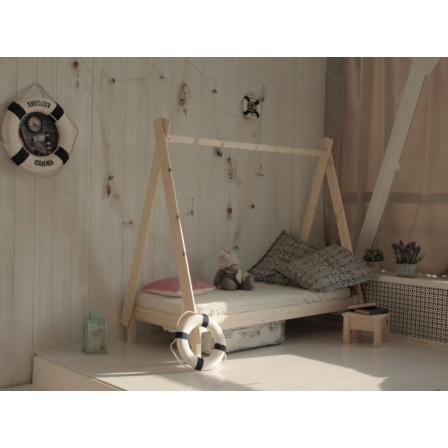 Детская кроватка-домик Вигвам