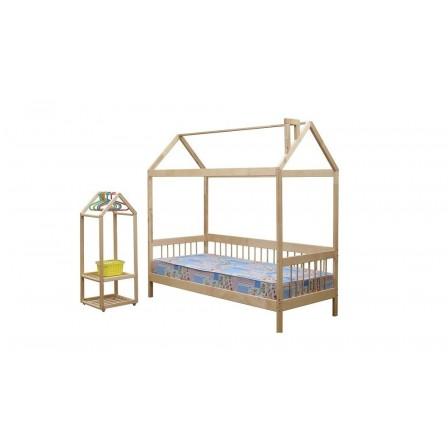 Кровать-домик ЭКО-21, 90*200