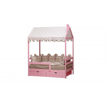 Детская кроватка-домик Эко-9