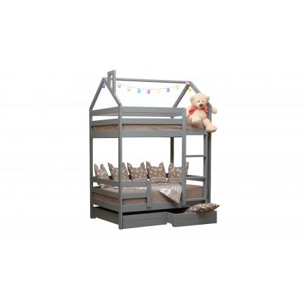 Детская кроватка-домик Эко-12