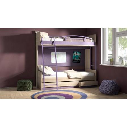 Кровать Индиго ГН-145.005 двухъярусная