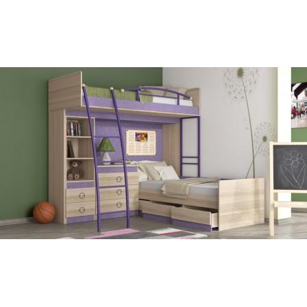 Кровать Индиго ГН-145.007 двухъярусная