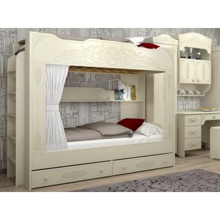 Двухъярусная детская кровать Ассоль-25