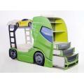 Детская двухъярусная кровать-машина Автовоз