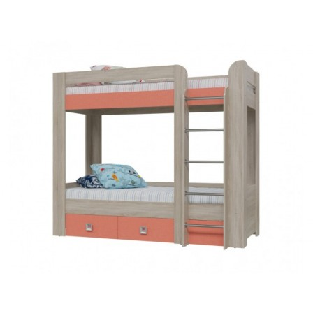 Двухъярусная детская кровать Сити Коралл 7