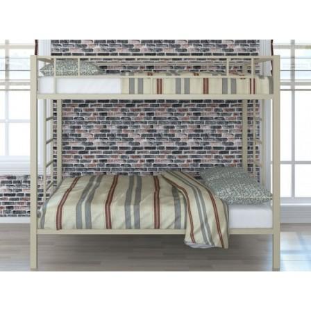 Двухъярусная детская кровать с бортиками Валенсия 120 Твист