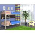 Двухъярусная детская кровать с высокими бортами Ницца 4С