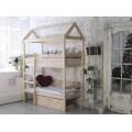 Детская кроватка-домик Бейби Хаус