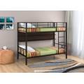 Металлическая двухъярусная кровать с полкой Севилья-2 П
