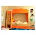 Детская двухъярусная детская кровать Vitamin А (70 х 190), ЛДСП