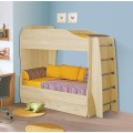 Кровать двухъярусная 80