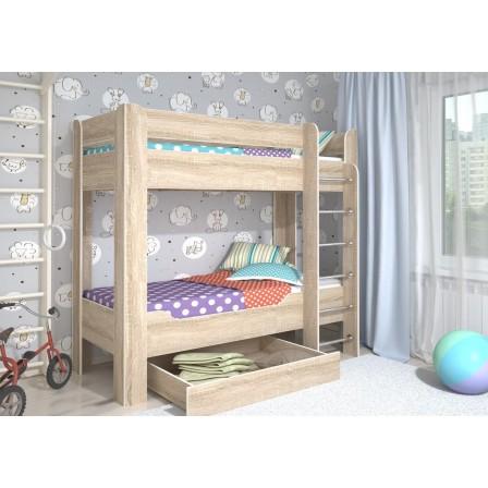 Двухъярусная детская кровать Мийа-4