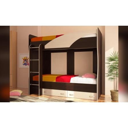Двухъярусная детская кровать Мийа (У)