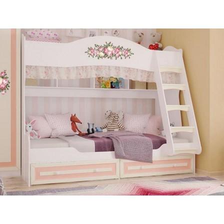 Кровать двухъярусная Алиса 80х190