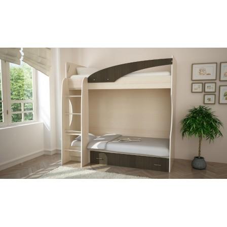 Кровать двухъярусная Бэмби-4 80х186
