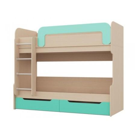 Двухъярусная детская кровать Юниор-1 80