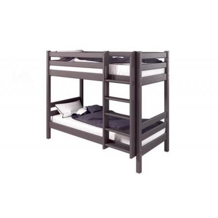 Кровать двухъярусная Соня (вариант 9) с прямой лестницей