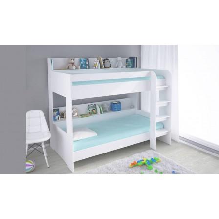 Кровать двухъярусная Polini Simple 5000