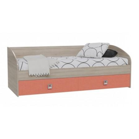 Детская кровать-диван Сити Коралл 1