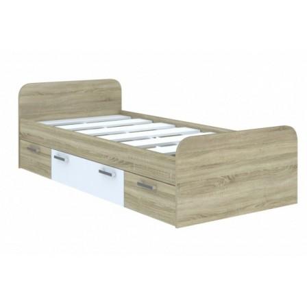 Детская кровать от 3 лет Мика Дуб Сонома 3