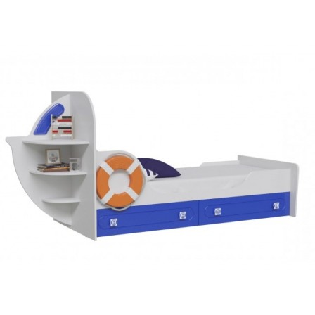 Детская кровать от 3 лет Яхта-1