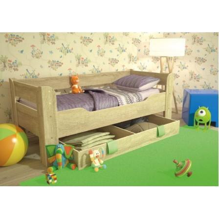 Детская кровать от 3 лет с ящиком 800*1900 Мийа-4