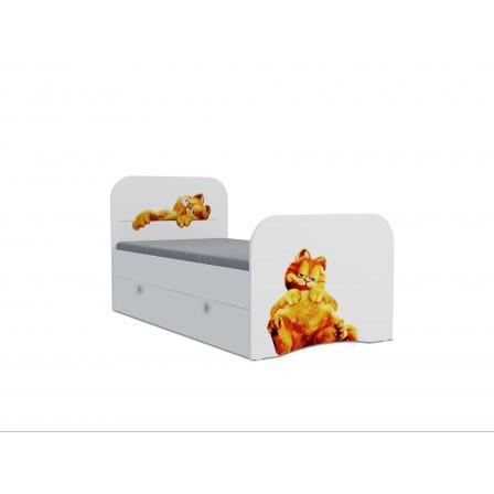 Детская кровать Гарфилд Стандарт KE-16Y(ящик выкатной)
