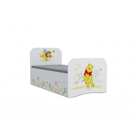 Детская кровать Винни Пух Стандарт KE-16Y(ящик ЛДСП выкатной)