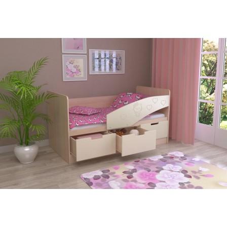 Детская кровать Бемби-7 МДФ (80х180)