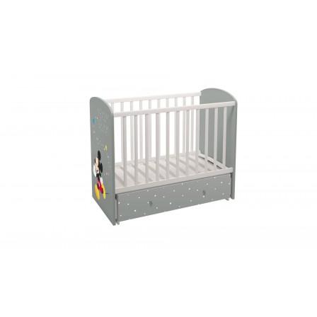 Кроватка-трансформер Polini Disney baby 750 Микки Маус