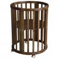Круглая кроватка Polini Simple 910