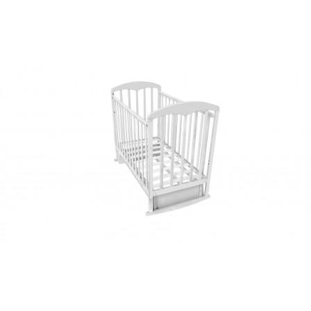 Кроватка-маятник Фея 324, белый