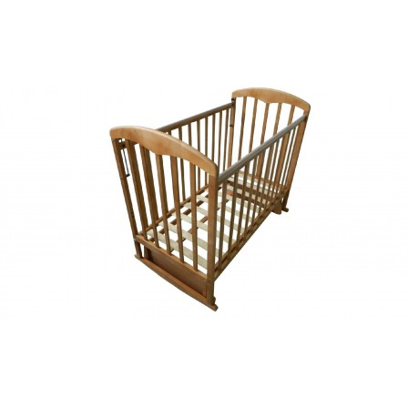 Кроватка-маятник Фея 324, мед