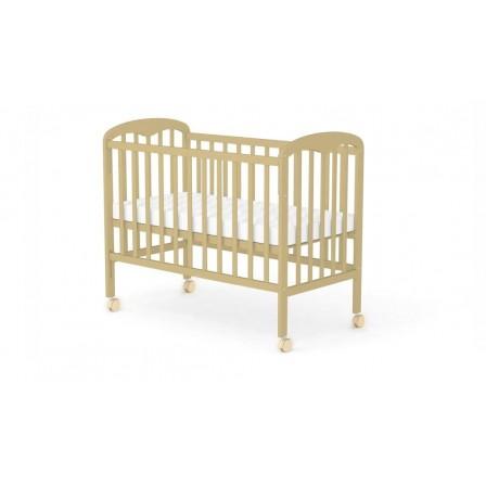 Кроватка-маятник Фея 323, орех, натуральный, мед