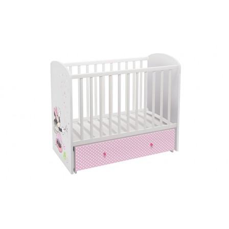 Кроватка-трансформер Polini Disney baby 750 Минни Маус-Фея