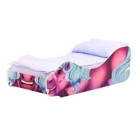 Детская кровать-машинка для девочки Пони Нюша