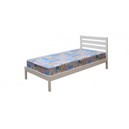Детская кровать от 3 лет ЭКО-7, 70*190, белая