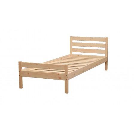 Детская кровать от 3 лет ЭКО-8 из массива (70х160)