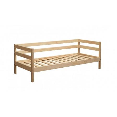 Детская кровать от 3 лет ЭКО-9 из массива (80*170)