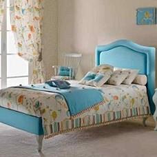 Детские кровати с мягкой спинкой.