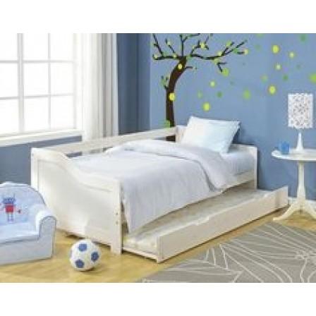 Выдвижные кровати для двоих детей.